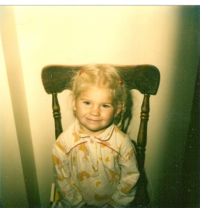 Amanda when she was just a little girl-1